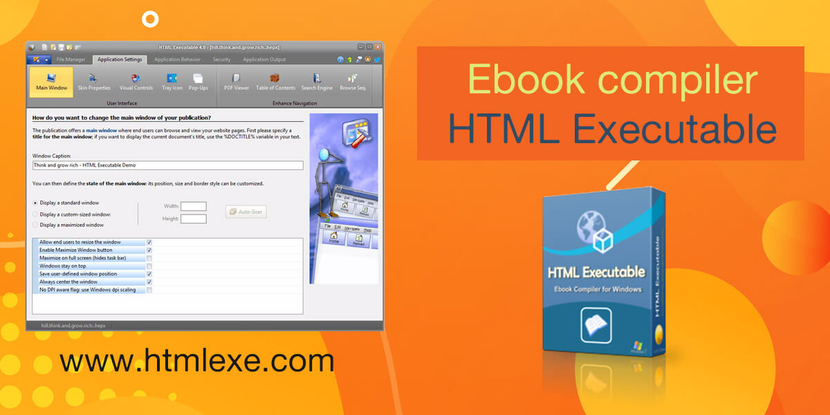 Our ebook compiler HTML Executable v4.9.5 is available