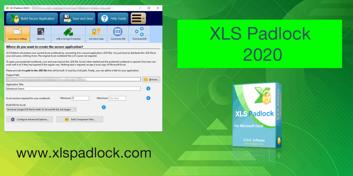 Excel compiler XLS Padlock 2020 released